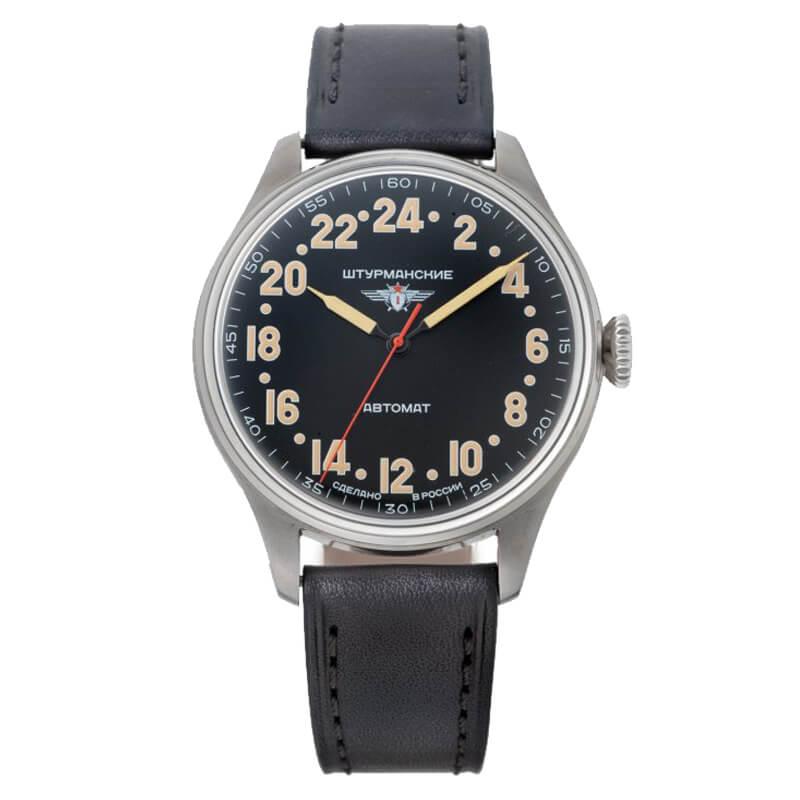 STURMANSKIE(シュトゥルマンスキー) HERITAGE ARCTIC(ヘリテージ アルクティカ) 自動巻き ブラック 2431/6821341 腕時計