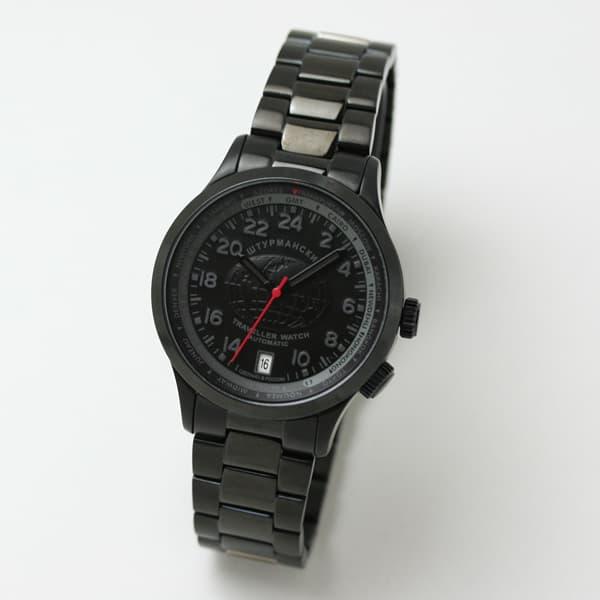 STURMANSKIE/シュトルマンスキー/Traveller(トラベラー)/オートマティック/ワールドタイマー/24時間表/2431-2254285/腕時計