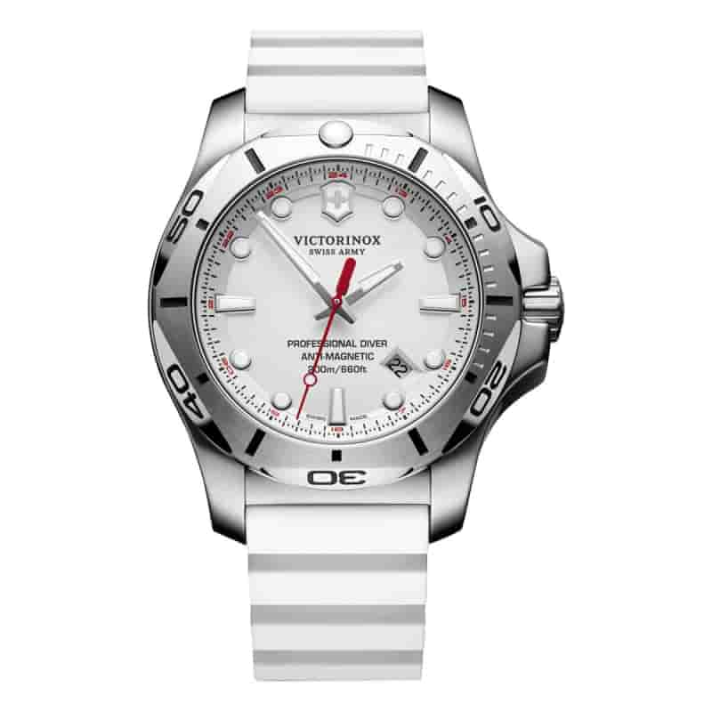 ビクトリノックススイスアーミー I.N.O.X. (イノックス) プロフェッショナルダイバー 249123 ホワイト 腕時計