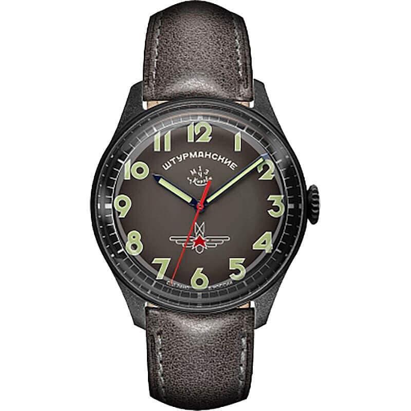 STRUMANSKIEシュトルマンスキーアニバーサリーモデル ガガーリン グリーンカラー 2609-3700476 世界500本限定 腕時計