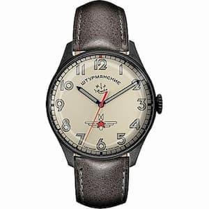 STRUMANSKIEシュトルマンスキーアニバーサリーモデル ガガーリン アイボリーカラ—2609-3700477 世界500本限定 腕時計