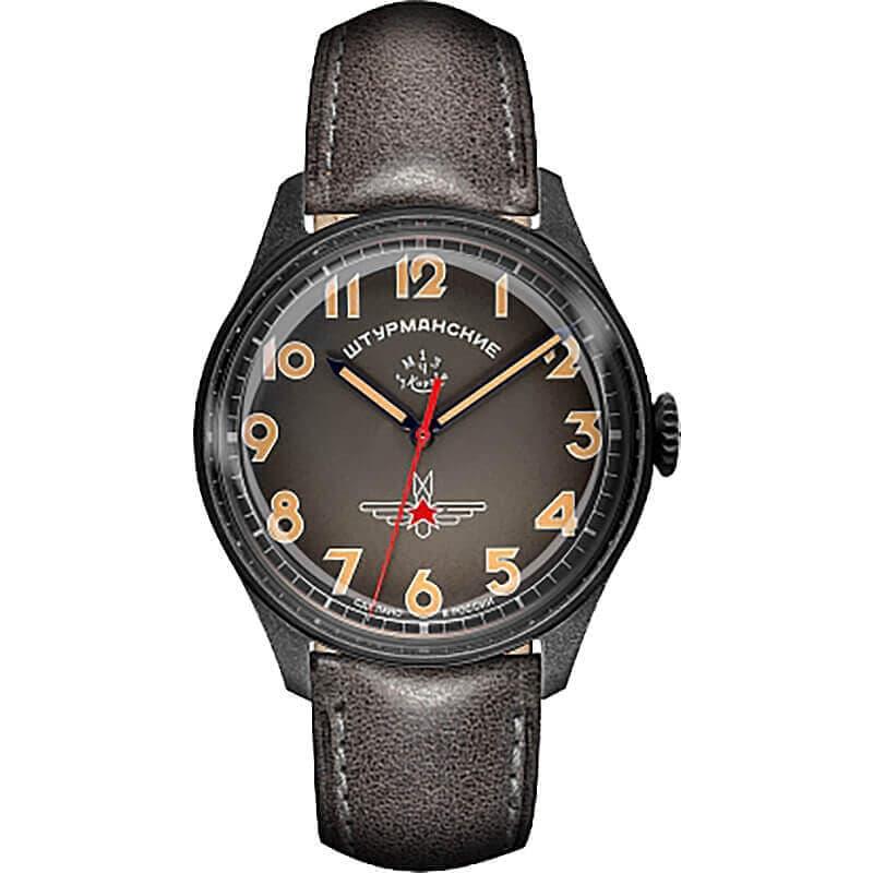STRUMANSKIEシュトルマンスキーアニバーサリーモデル ガガーリン オレンジカラー 2609-3700478 世界500本限定 腕時計