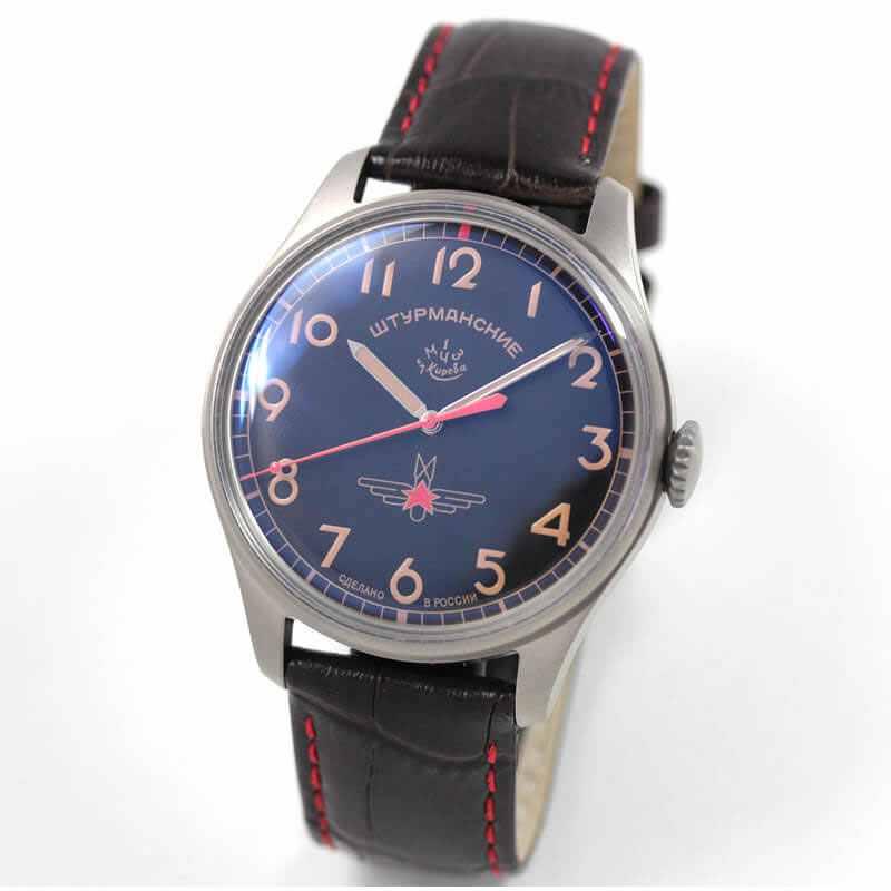 STRUMANSKIE(シュトルマンスキー)STRELA(ストレラ)初期復刻 限定モデル/ガガーリン(Gagarin) チタニウムモデル 2609/3707129 腕時計