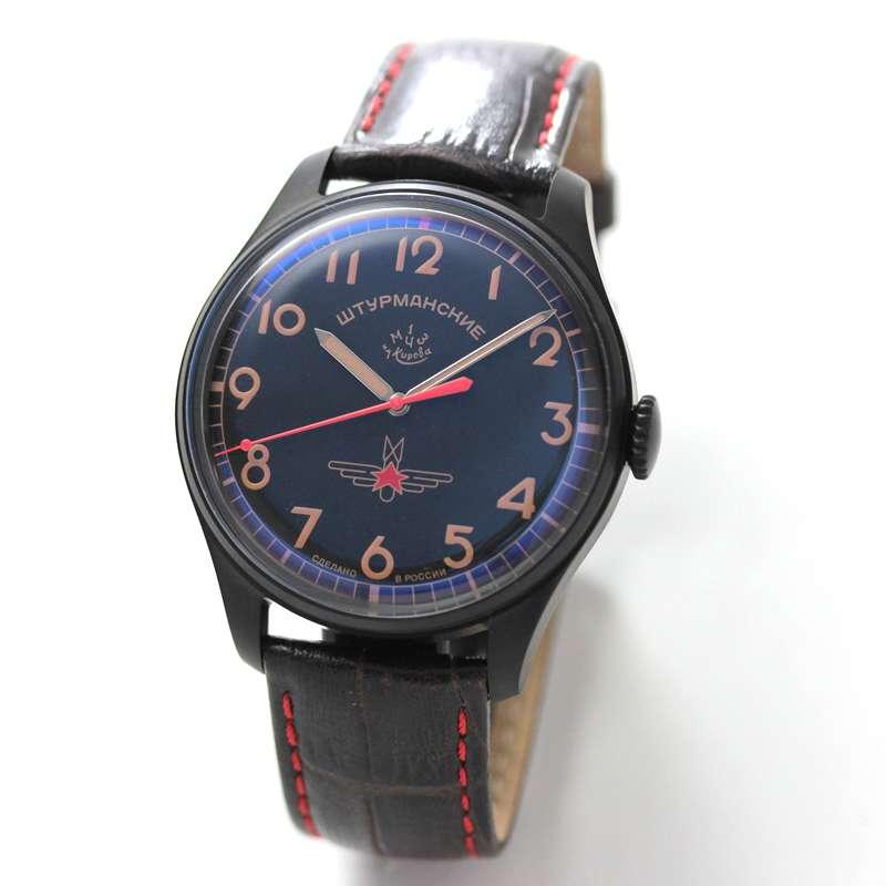 STRUMANSKIE(シュトルマンスキー)STRELA(ストレラ)初期復刻 限定モデル/ガガーリン(Gagarin) チタニウムモデル 2609-3714129 腕時計