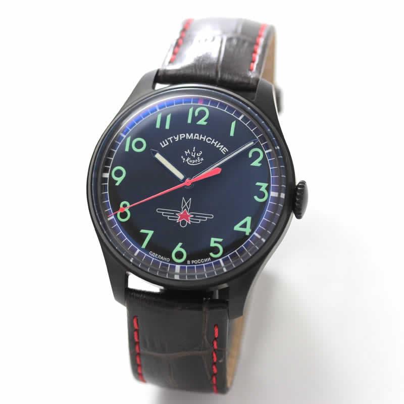 STURMANSKIE(シュトゥルマンスキー)STRELA(ストレラ)初期復刻 限定モデル/ガガーリン(Gagarin) チタニウムモデル 2609-3714130 腕時計