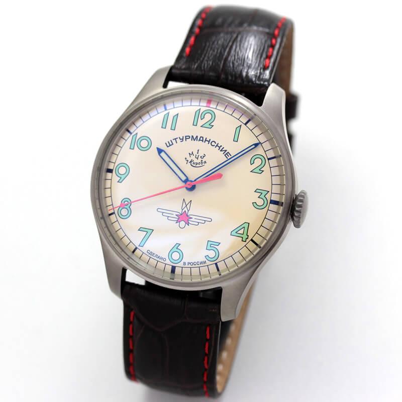 STRUMANSKIE(シュトルマンスキー)STRELA(ストレラ)初期復刻 限定モデル/ガガーリン(Gagarin) チタニウムモデル 2609/3717128 腕時計
