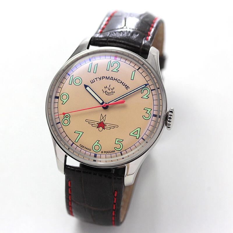 STRUMANSKIE(シュトルマンスキー) アニバーサリー限定モデル ガガーリン(Gagarin) チタニウム 2609/3725127 腕時計