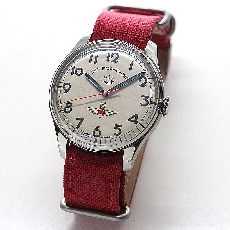 STURMANSKIE(シュトゥルマンスキー) ガガーリン アニバーサリー 日本限定モデル 2609コートドジュネーブレッドスター 2609-3725200J 腕時計