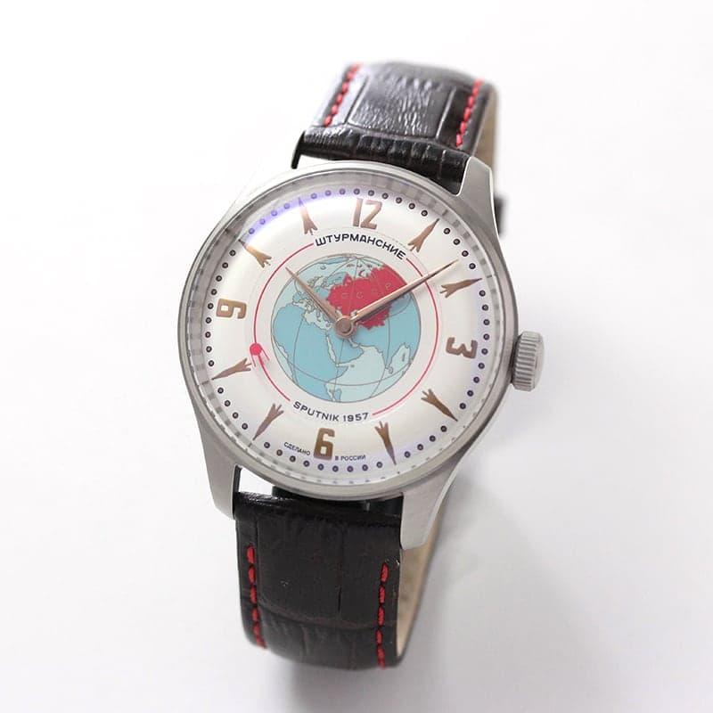 STURMANSKIE(シュトゥルマンスキー) HERITAGE SPUTNIK(ヘリテージ スプートニク) ホワイト 手巻き式 世界限定2000本 2609/3735430 腕時計