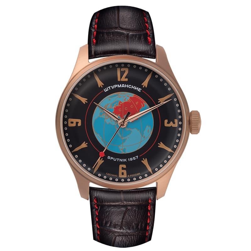 STURMANSKIE(シュトゥルマンスキー) HERITAGE SPUTNIK(ヘリテージ スプートニク)手巻き式 世界限定2000本 2609/3739434 ブラック 腕時計