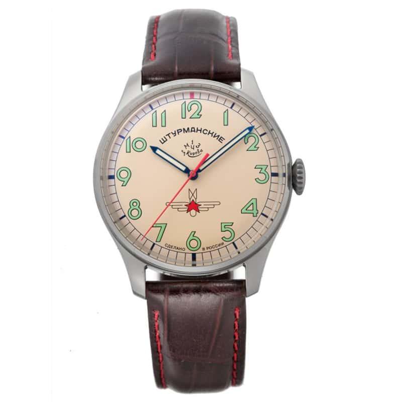STURMANSKIE(シュトゥルマンスキー) アニバーサリー限定モデル ガガーリン(Gagarin) チタニウムモデル 2609-3747128 限定1000本 腕時計