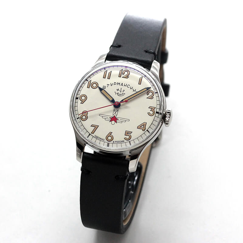 STURMANSKIE シュトゥルマンスキーアニバーサリーモデル33 ガガーリン アイボリーカラ—2609-375/1/470LB 世界2000本限定 腕時計