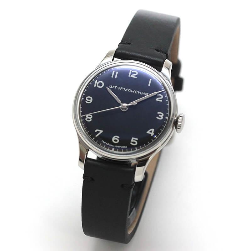 STURMANSKIE シュトゥルマンスキー アニバーサリーモデル33 ガガーリン クラシック 2609-375/1/484 世界2000本限定 ブラック 腕時計