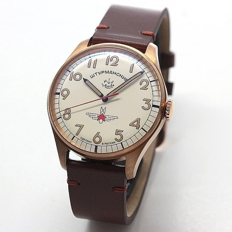 STURMANSKIE シュトゥルマンスキー アニバーサリーモデル ガガーリン ブロンズ 2609.3768202 500本限定 腕時計