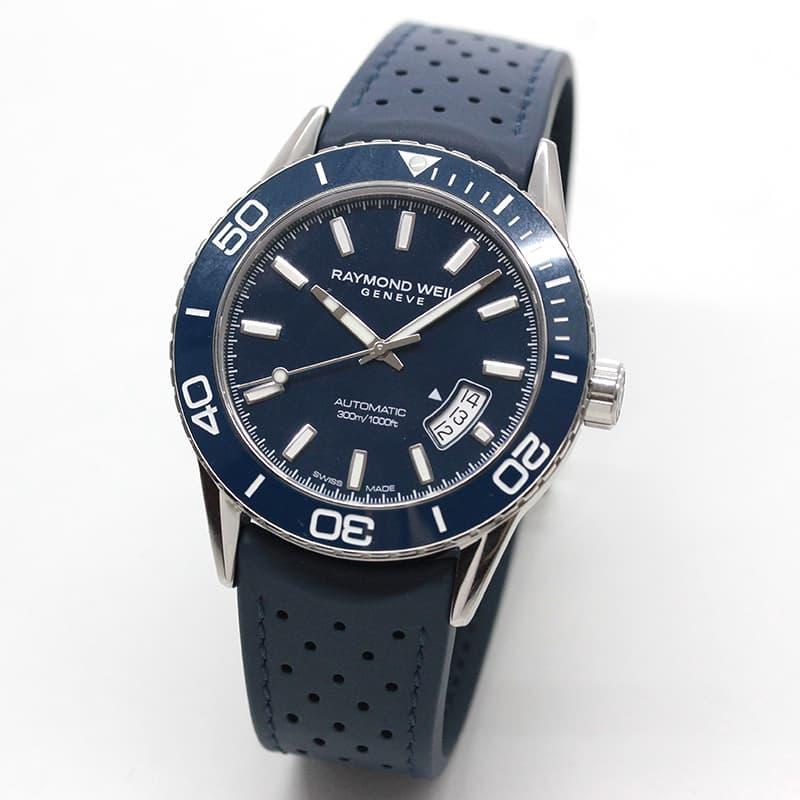 レイモンドウェイル フリーランサー(FREELANCER)30気圧防水 2760-SR3-50001 ネイビー 腕時計