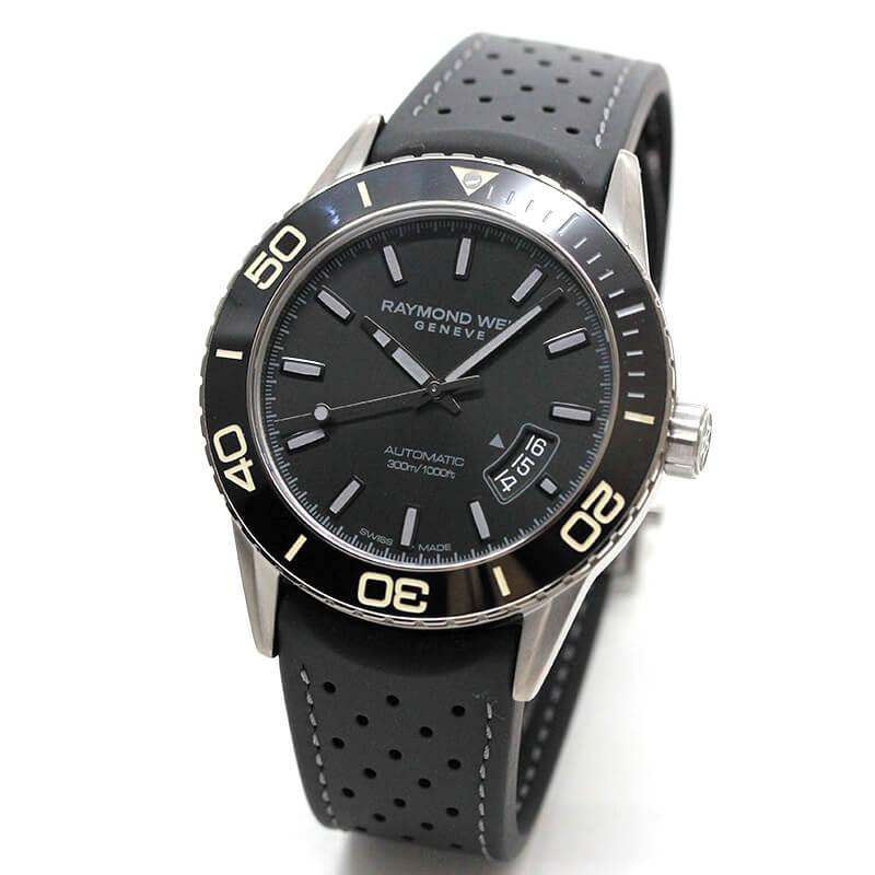 レイモンドウェイル フリーランサー(FREELANCER)30気圧防水 2760-TR1-20001 ブラック 腕時計