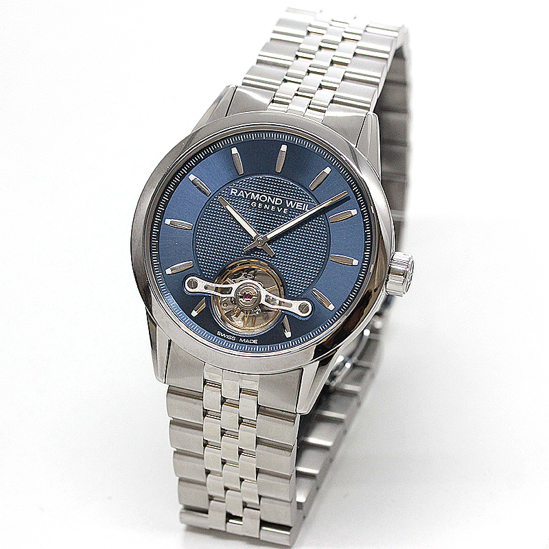 レイモンドウェイル フリーランサー(FREELANCER)オープンハート 2780-ST-50001 ブルー 腕時計