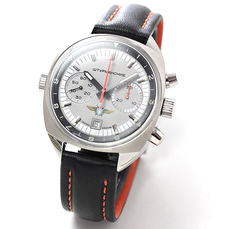 STURMANSKIE シュトゥルマンスキー 手巻クロノグラフ3133-1981260 世界500本限定 腕時計