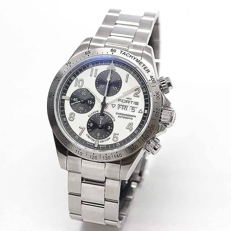 【世界限定100本】フォルティス(FORTIS)腕時計 クラシックコスモノート スチール リミテッドエディション 自動巻き 401.21.72M