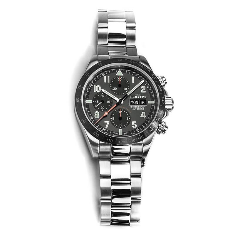 フォルティス(FORTIS)腕時計 クラシックコスモノート セラミック 自動巻き 401.26.11m