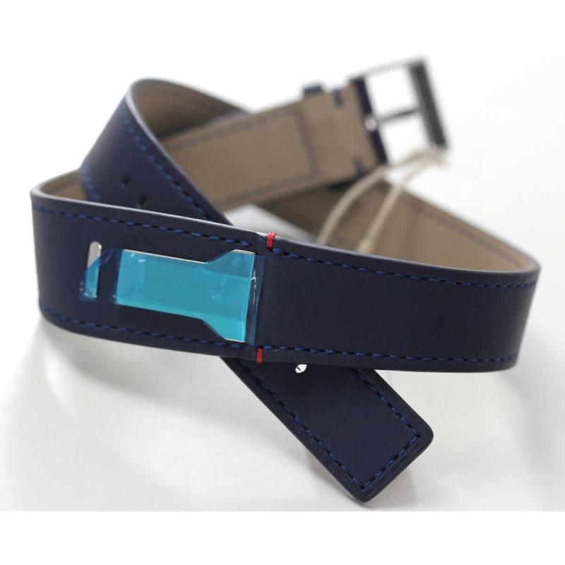 klokers(クロッカーズ)腕時計用ダブルストラップ ベルト ブルー KLINK-02 420C3