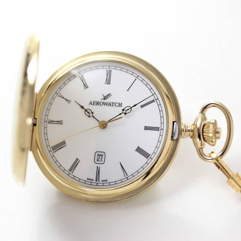 アエロ(AERO)/クォーツ式/42796JA01/懐中時計