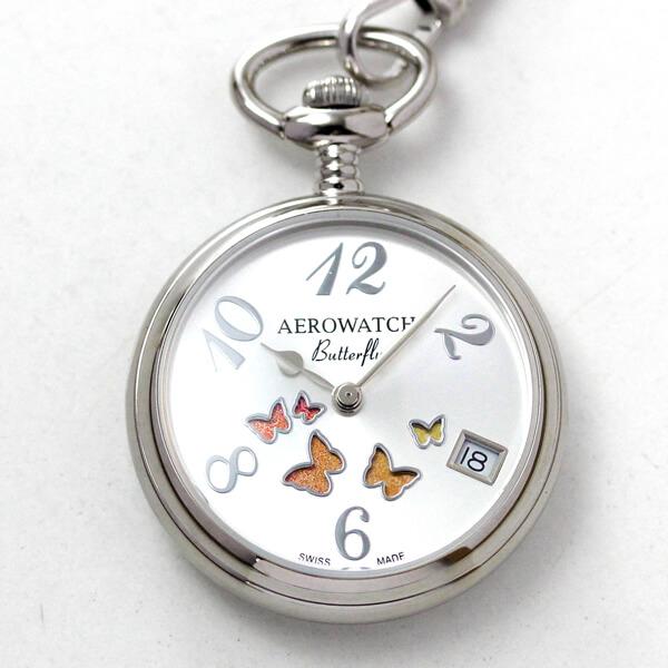 AERO(アエロ) ペンダントウォッチ BUTTERFLY クォーツ 44825PD01 懐中時計