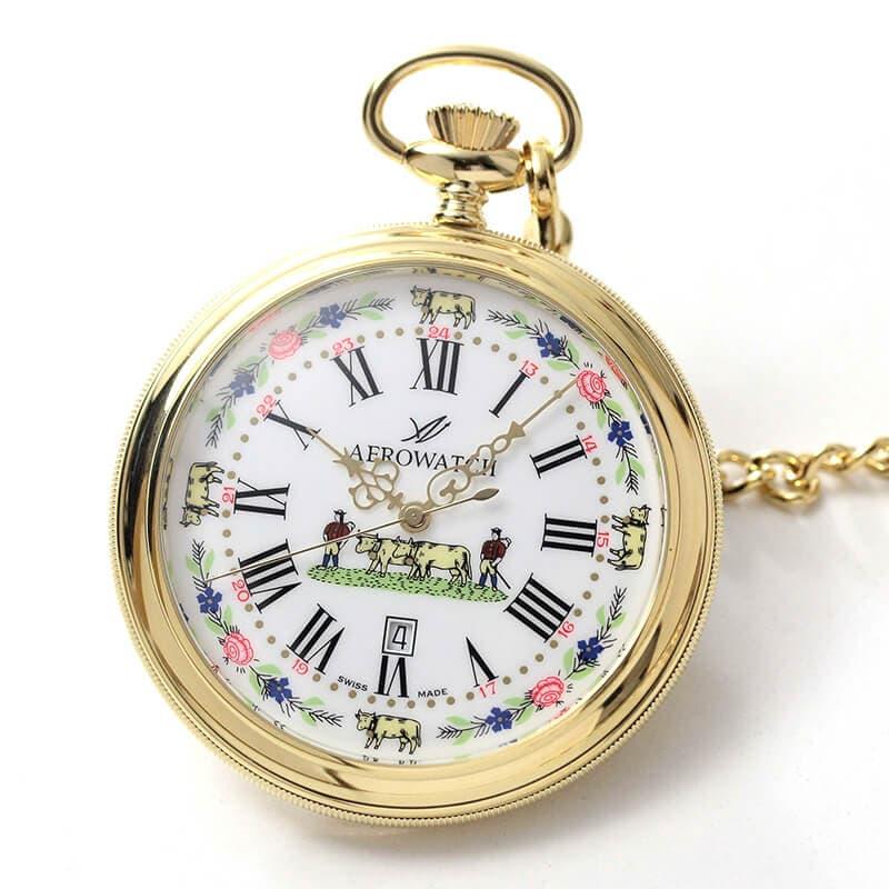 アエロ(AERO)45797ja01 クォーツ 懐中時計