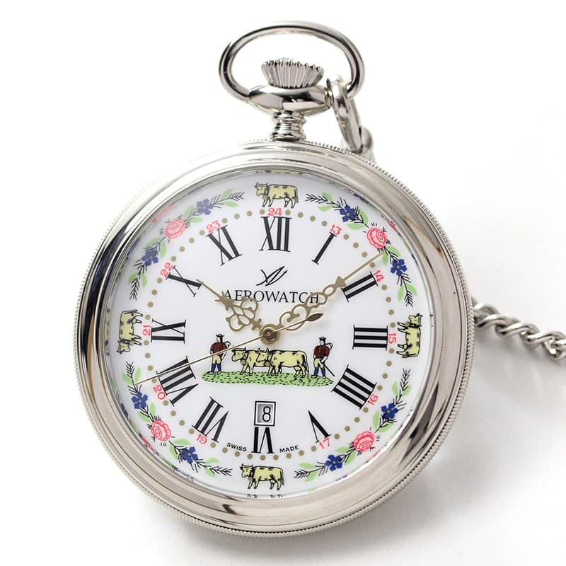 アエロ(AERO)45797pd01 クォーツ 懐中時計
