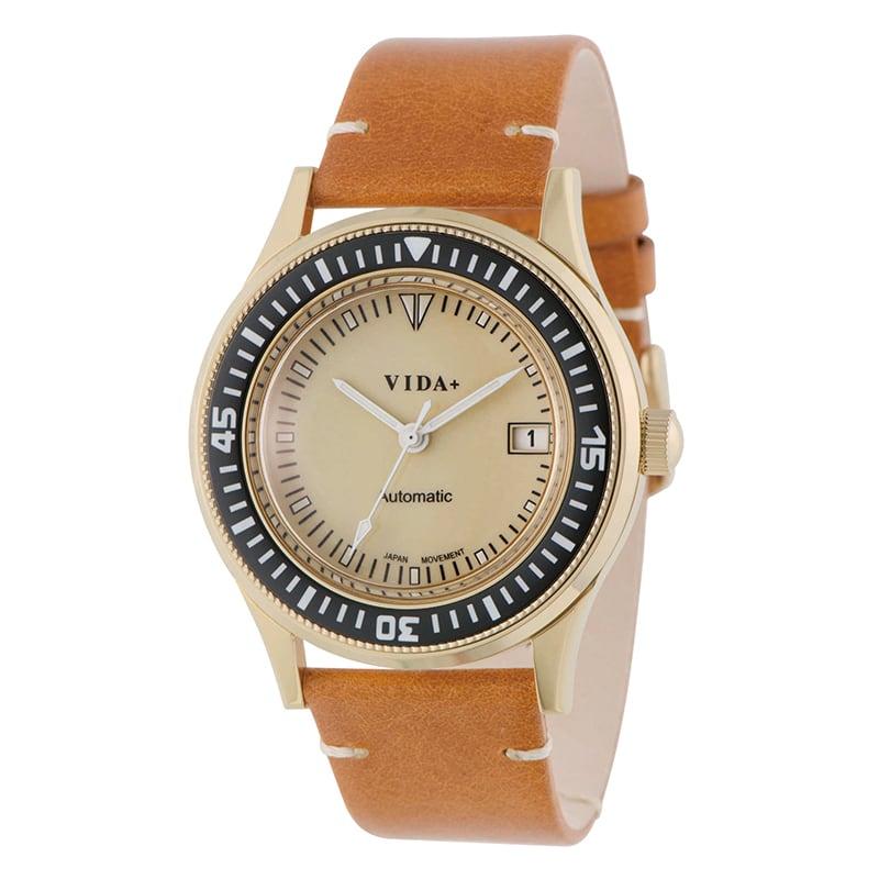 VIDA+ Heritage(ヘリテージ) 45918 LE-BR 自動巻き ブラウン 男女兼用 腕時計