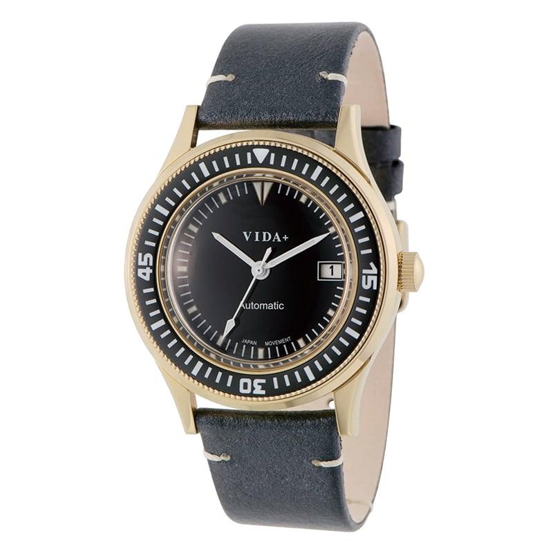 VIDA+ Heritage(ヘリテージ) 45919 LE-NV 自動巻き ネイビー 男女兼用 腕時計