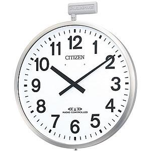 CITIZE/シチズン 10年電池式・屋外用電波壁掛け時計パルウェーブ【4MY611B19】