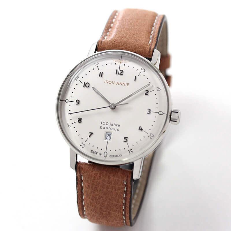 アイアンアニー(IRON ANNIE)バウハウス(Bauhaus)5046-1QZ 腕時計
