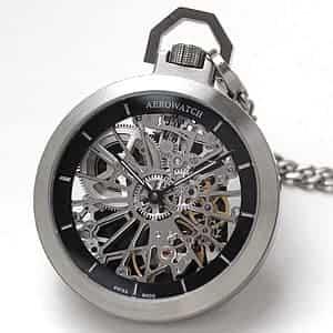 アエロ(AERO) Cobweb 50818AA01 SQ スケルトン 懐中時計