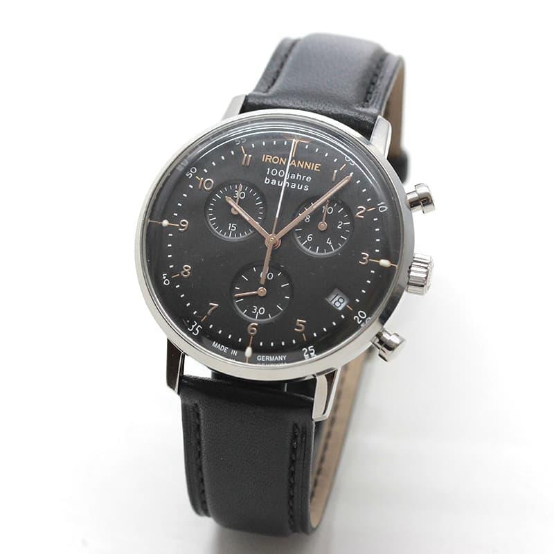 アイアンアニー(IRON ANNIE)バウハウス(Bauhaus)5096-2QZ 腕時計 100周年モデル
