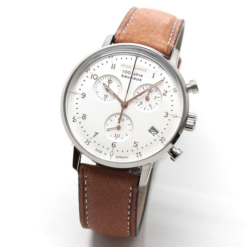 アイアンアニー(IRON ANNIE)バウハウス(Bauhaus)5096-4QZ 腕時計 100周年モデル