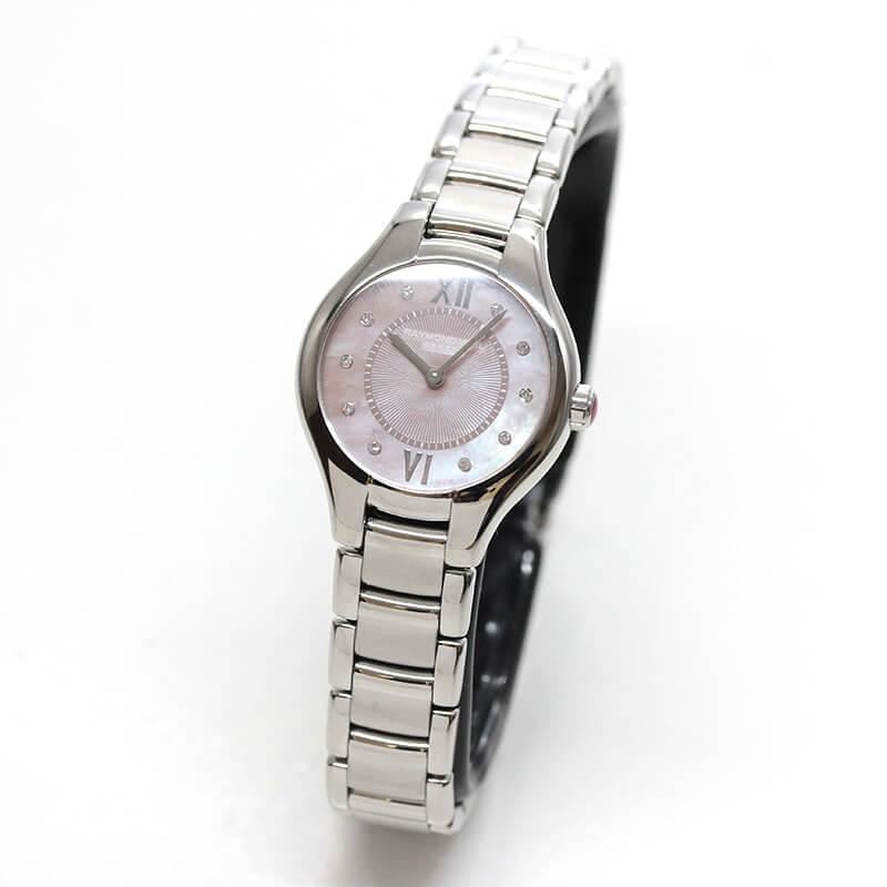 レイモンドウェイル ノエミア(NOEMIA) 5124-ST-00986 女性用 ピンクカラー 腕時計