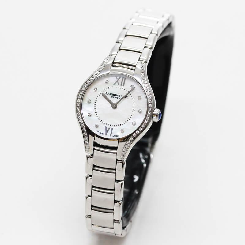 レイモンドウェイル ノエミア(NOEMIA) 5124-STS-00985 女性用 合計62個のダイヤモンド 腕時計