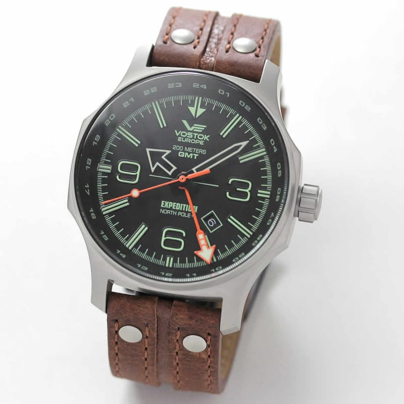 VOSTOK EUROPE(ボストーク ヨーロッパ)/EXPEDITION(エクスペディション) /North Pole 1/GMT LINE/515.24H-595A501 腕時計