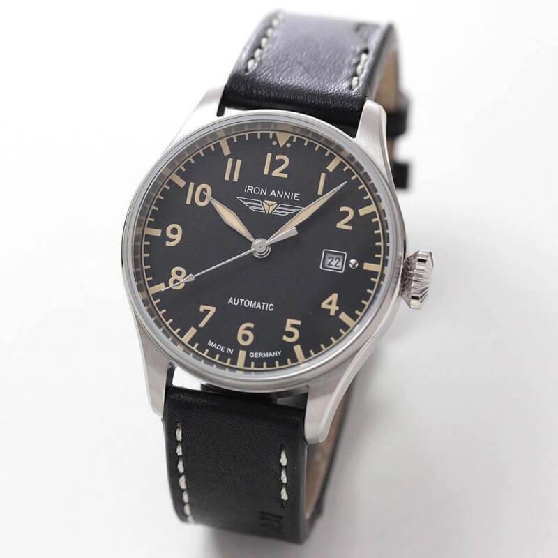 アイアンアニー(IRON ANNIE)コックピット(COCKPIT)5162-2AT 自動巻き 腕時計