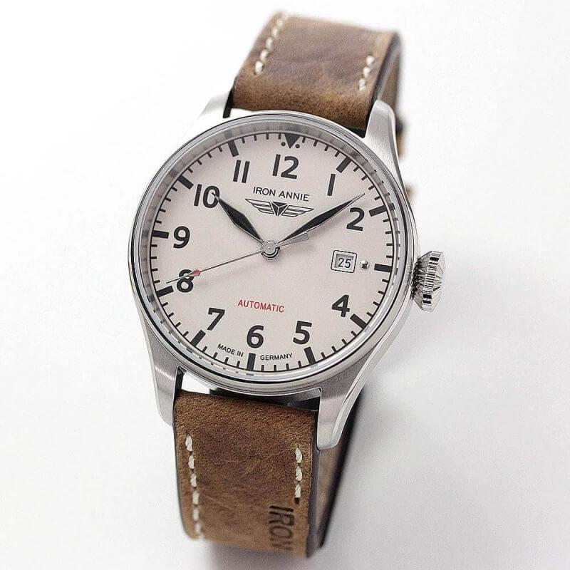 アイアンアニー(IRON ANNIE)コックピット(COCKPIT)5162-3AT 自動巻き 腕時計