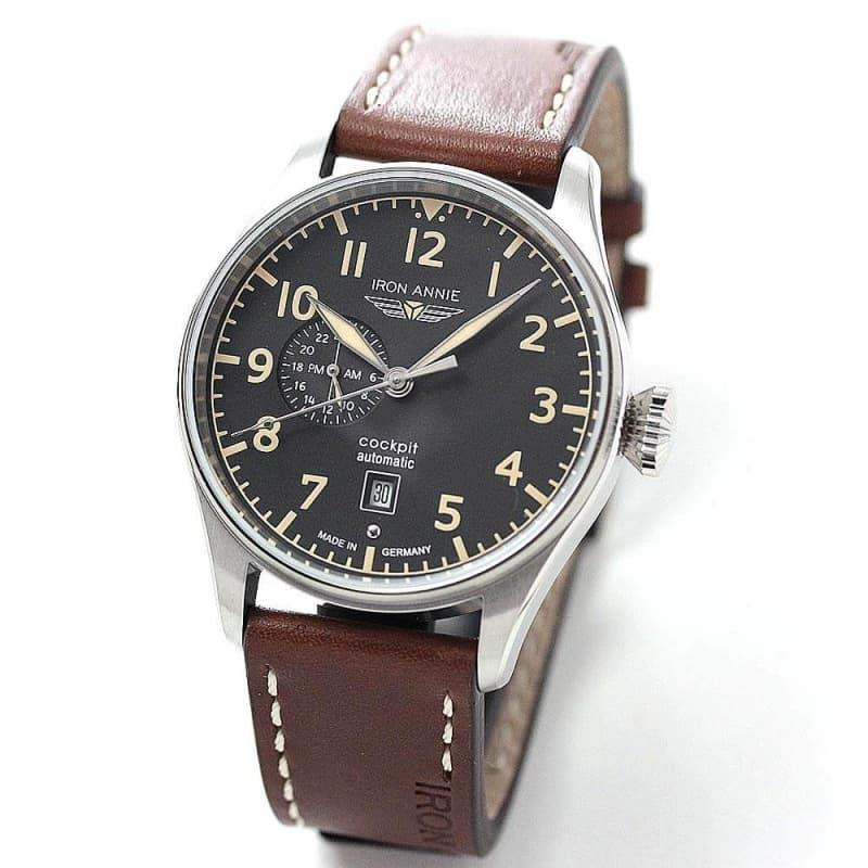 アイアンアニー(IRON ANNIE)コックピット(COCKPIT)5168-2AT 自動巻き 腕時計
