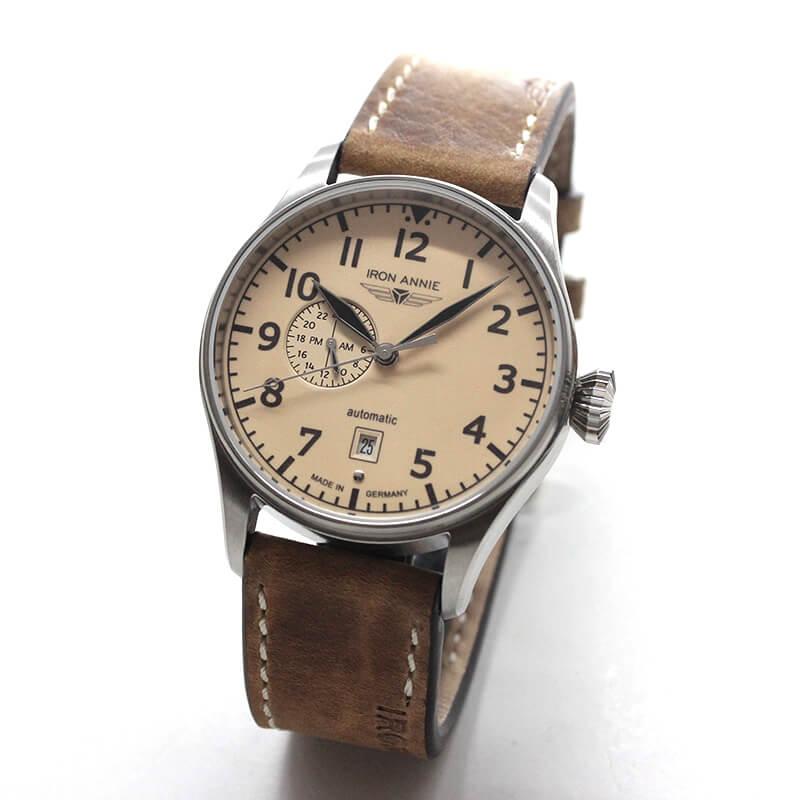 アイアンアニー(IRON ANNIE)コックピット(COCKPIT)5168-5AT 自動巻き 腕時計