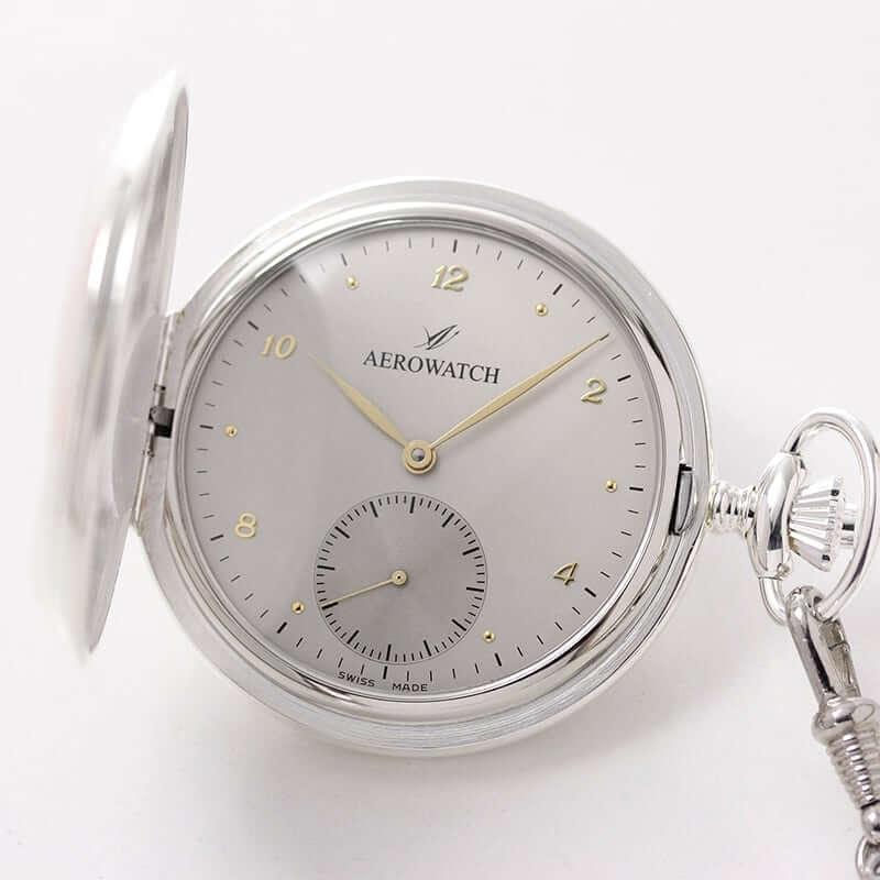 AERO(アエロ)  手巻き式 サボネット 55645 AG03 懐中時計