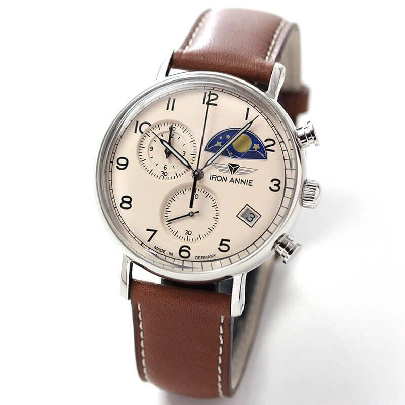 アイアンアニー(IRON ANNIE)アマゾナス(AMAZONAS)5944-5QZ ムーンエイズ 腕時計