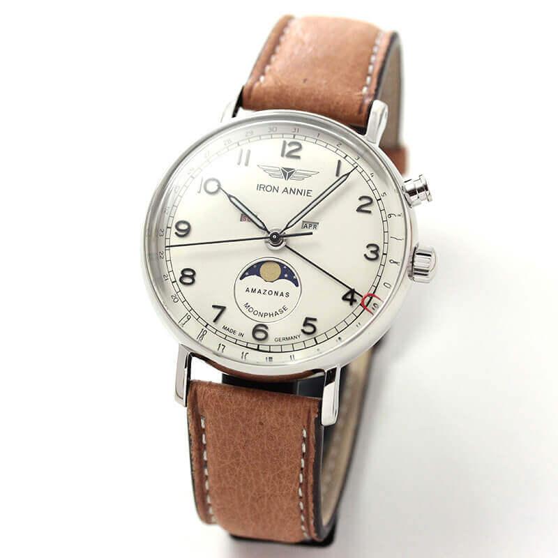 アイアンアニー(IRON ANNIE)アマゾナス(AMAZONAS)5976-5QZ トリプルカレンダー 腕時計