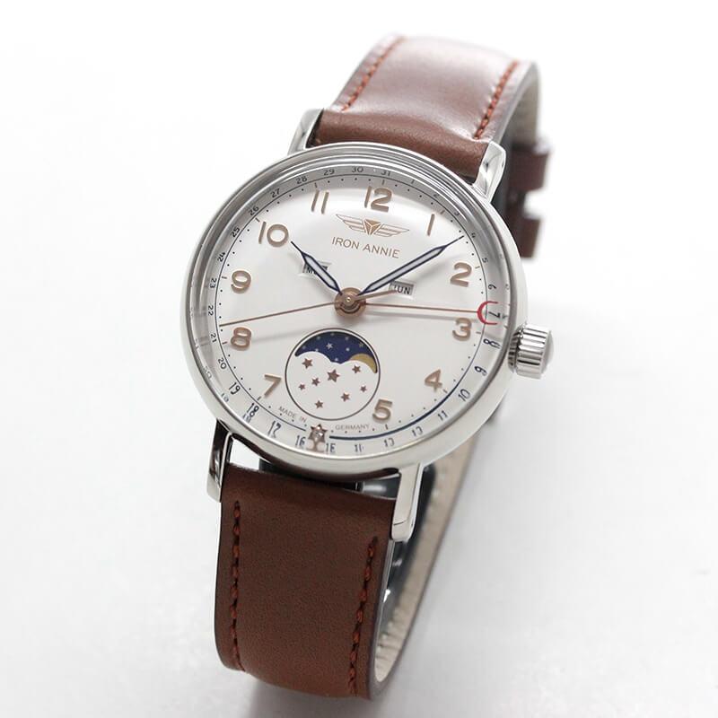 アイアンアニー(IRON ANNIE)アマゾナス(AMAZONAS)5977-1QZ ムーフェンズ 腕時計