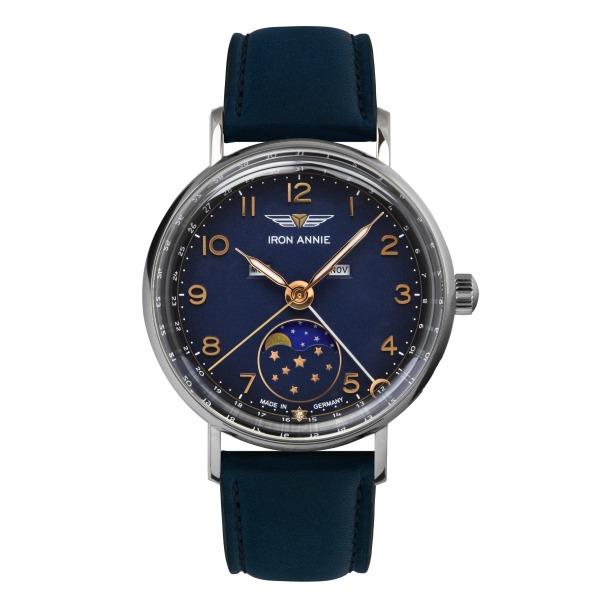 アイアンアニー(IRON ANNIE)アマゾナス(AMAZONAS)5977-4QZムーフェンズ 腕時計