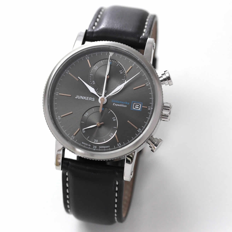 JUNKERS (ユンカース)エクスペディション サウスアメリカ 6588-2QZ/腕時計