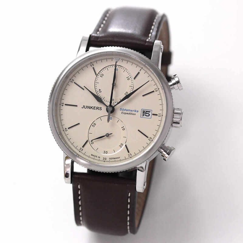 JUNKERS (ユンカース)エクスペディション サウスアメリカ 6588-5QZ/腕時計
